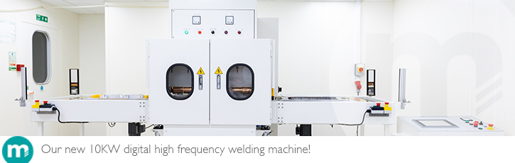 Our new 10KW digital high frequency welding machine