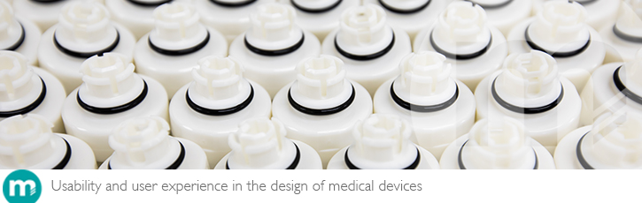 Usability and user experience in the design of medical devices