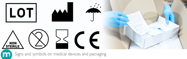 12 key signs and symbols on medical devices and packaging