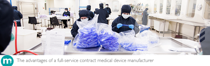 The advantages of a full-service contract medical device manufacturer
