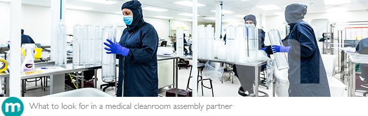 What to look for in a medical cleanroom assembly partner