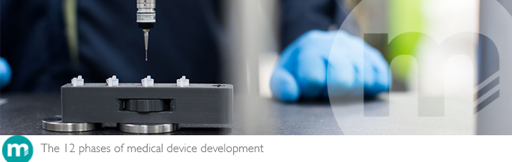 The 12 phases of medical device development